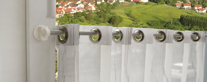 döfix magnetic curtain rod brackets